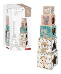 Janod blocs en bois à empiler Pyramide Sophie la Girafe-Détail de l'article