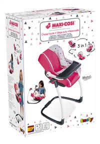 Smoby chaise haute 3 en 1 Maxi-Cosi rose-Côté gauche
