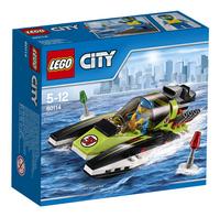LEGO City 60114 Le bateau de course