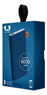 Fresh 'n Rebel lader Powerbank 6000mah Indigo-Rechterzijde