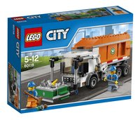 LEGO City 60118 Le camion poubelle