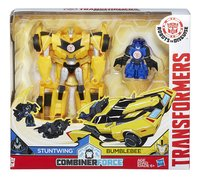 Transformers Robots in Disguise Combiner Force Stuntwing & Bumblebee
