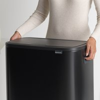 Brabantia Poubelle Touch Bin Bo matt black 60 l-Détail de l'article