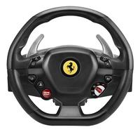 PS4 Thrustmaster stuurwiel met pedalen T80 Ferrari 488 GTB Edition zwart-Vooraanzicht