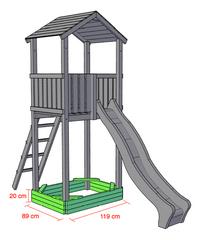 BnB Wood zandbak voor Nieuwpoort-Artikeldetail