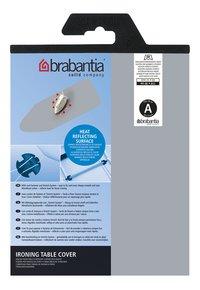 Brabantia housse de rechange Metallic A 110 x 30 cm argenté
