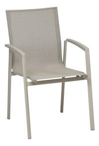 Chaise de jardin Bondi taupe/sable