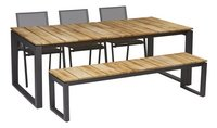Tuinset Soho/Breeze antraciet
