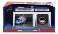 Dickie Toys set de jeu SOS station Belgique Police