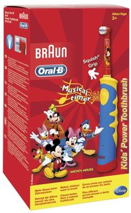 Oral-B kindertandenborstel Kids' Power Mickey-Vooraanzicht