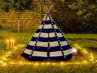 Sunny tipi Lumo avec éclairage LED bleu/blanc-Image 2