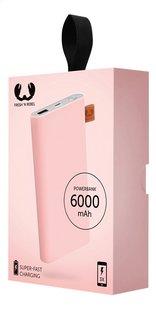 Fresh 'n Rebel lader Powerbank 6000 mAh Cupcake-Rechterzijde