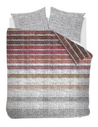 Beddinghouse Dekbedovertrek Jarno flanel red 140 x 220 cm-Vooraanzicht