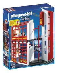 Playmobil City Action 5361 Caserne des pompiers avec alarme