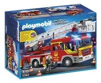 Playmobil City Action 5362 Camion de pompier avec échelle pivotante et sirène