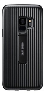 Samsung coque Protective Standing Cover pour Samsung Galaxy S9 noir-Avant