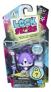 Figuur Lock Stars Purple Cat-Vooraanzicht