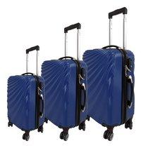 Beverly Hills Polo Club set de 3 valises rigides bleu-Avant