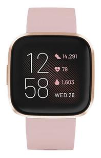 Fitbit montre connectée Versa 2 rose pétale/rose cuivré-Avant