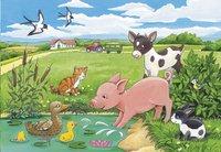Ravensburger puzzle 2 en 1 Bébés animaux de la terre-Avant