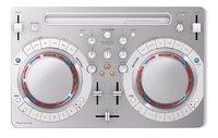 Pioneer table de mixage DDJ-WeGO4-K blanc-Vue du haut