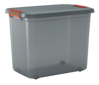 Kis Opbergbox grijs/transparant 69 l-Vooraanzicht