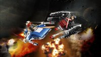 LEGO Star Wars 75196 A-Wing vs TIE Silencer microfighters-Afbeelding 1