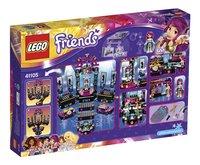 LEGO Friends 41105 Popster Podium-Achteraanzicht