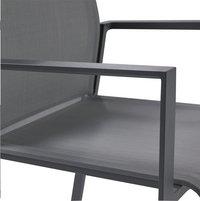 Jati & Kebon Tuinstoel Calvin zilvergrijs/antraciet-Artikeldetail