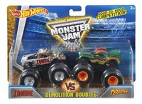 Hot Wheels Monster Truck Demolition Doubles Zombie VS Dragon-Avant
