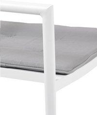 Chaise de jardin Sandy gris/blanc-Détail de l'article