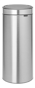 Brabantia Poubelle Touch Bin New matt steel fingerprint proof 30 l-Avant