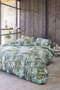 Beddinghouse Housse de couette Hortus green satin de coton-Image 3