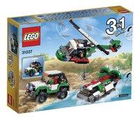 LEGO Creator 31037 Les véhicules de l'aventure-Arrière