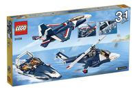 LEGO Creator 31039 Blauwe Straaljager-Achteraanzicht