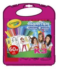 Crayola K3 SuperTips - 60 pièces