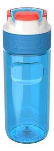 Kambukka drinkfles Elton 500 ml Caribbean Blue -Achteraanzicht