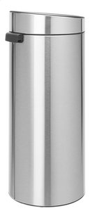 Brabantia Poubelle Touch Bin New matt steel fingerprint proof 30 l-Côté gauche