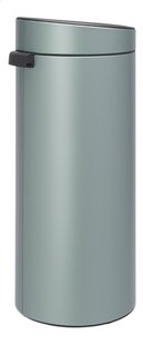 Brabantia Afvalemmer Touch Bin New metallic mint 30 l-Linkerzijde