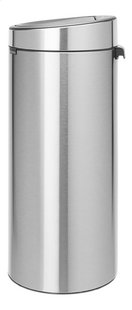 Brabantia Poubelle Touch Bin New matt steel fingerprint proof 30 l-Côté droit