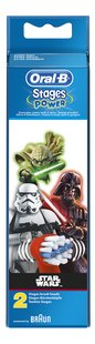 Oral-B Brossette de rechange Stages Power Disney Star Wars - 2 pièces-Avant