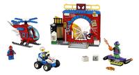 LEGO Juniors 10687 Spider-Man Schuilplaats-Vooraanzicht