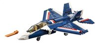LEGO Creator 31039 Blauwe Straaljager-Vooraanzicht
