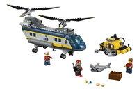 LEGO City 60093 L'hélicoptère de haute-mer-Avant