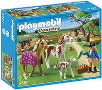 Playmobil Country 5227 Paddock met paardenfamilie