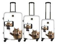 Saxoline Harde reistrolley Selfie Cats Spinner