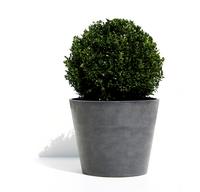 Ecopot's pot Amsterdam grey diamètre 30 cm-Image 1