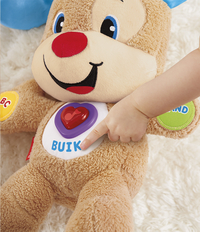 Fisher-Price interactieve knuffel Laugh and Learn Smart Stages Puppy-Afbeelding 3