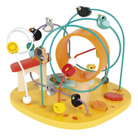 Janod houten activiteitenspeeltje Looping Kip & Vrienden-Artikeldetail
