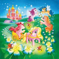Ravensburger 3-in-1 puzzel Pony's in sprookjesland-Artikeldetail